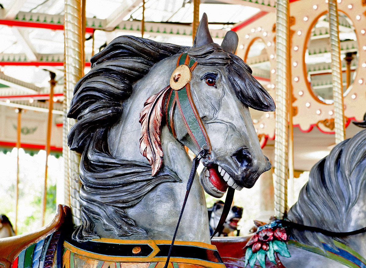 Cafesjians Carousel Horse