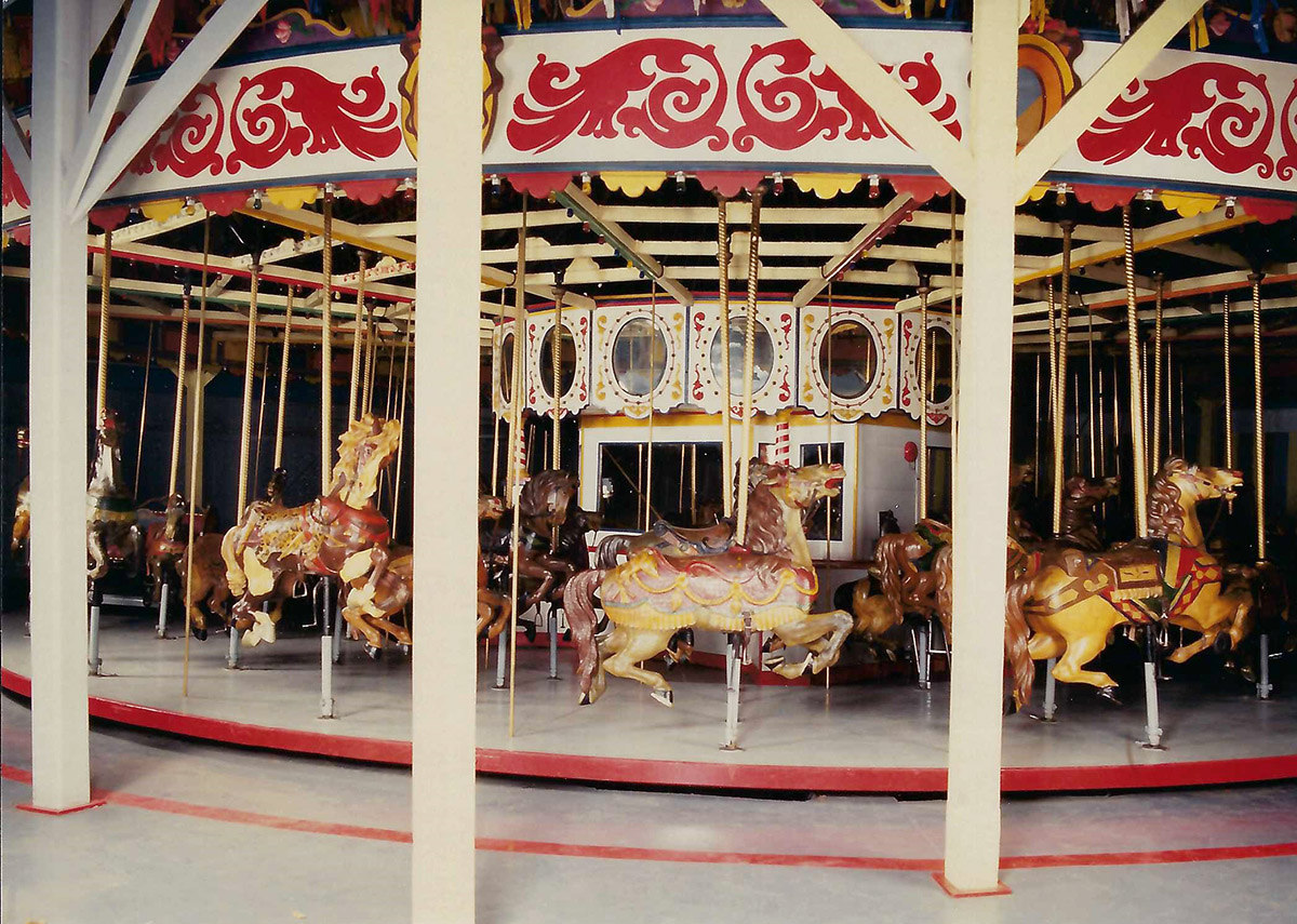 Historic Photo of Cafesjian's Carousel
