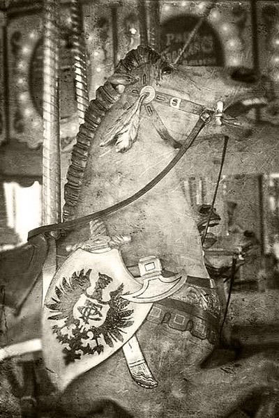 Horse on Cafesjian's Carousel