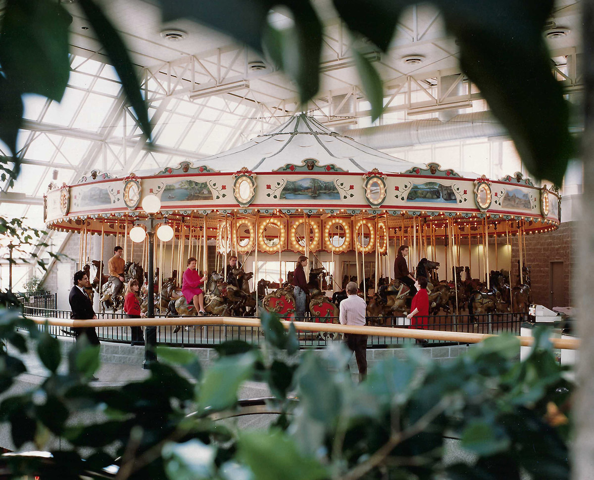 Cafesjian's Carousel at St. Paul Town Square
