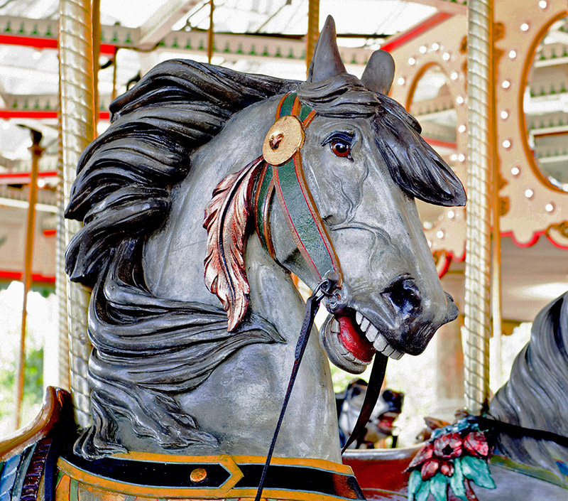 Cafesjian's Carousel Horse